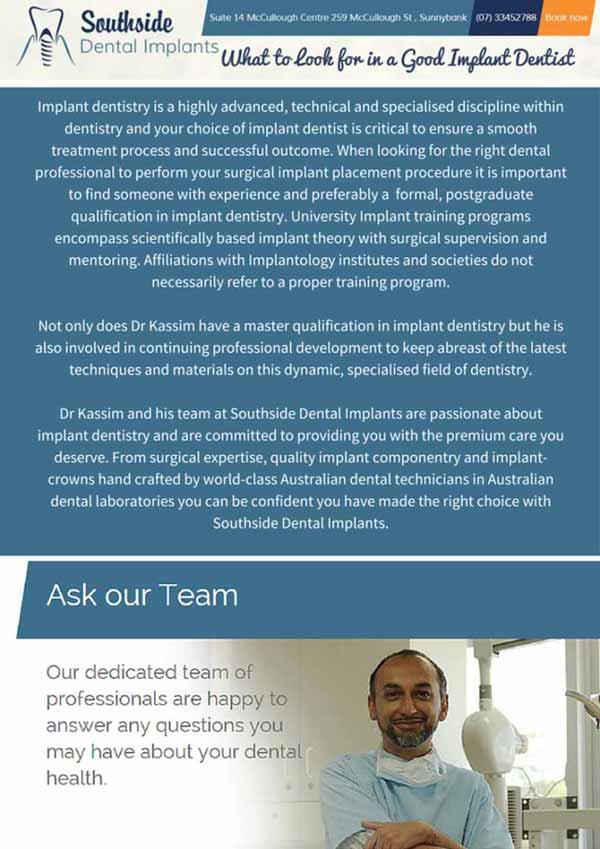 Good Implant Dentist - Southside Dental Implants